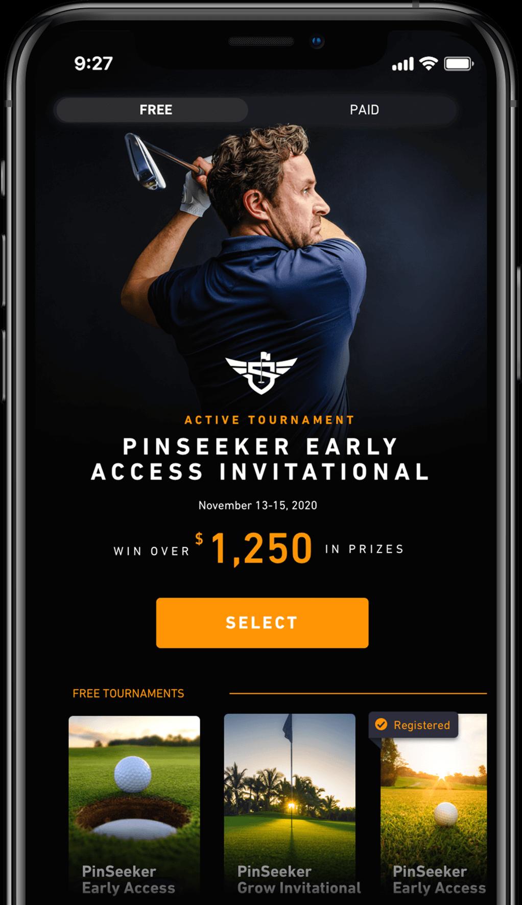Download the PinSeeker app